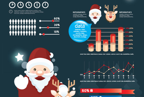 Infografías navidad