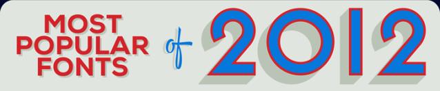 Tipografías 2012