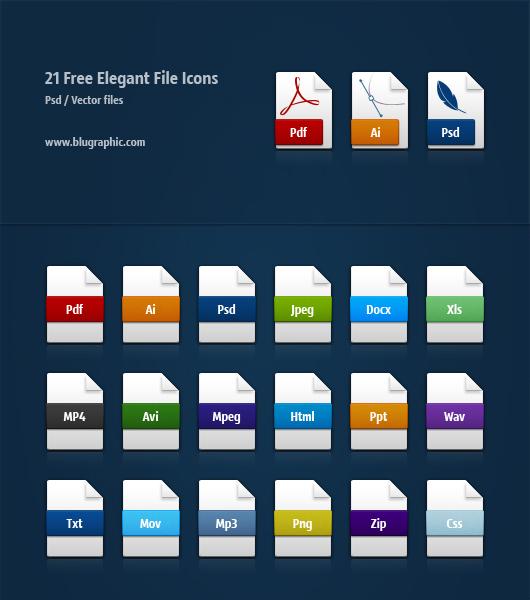 Iconos de Archivos