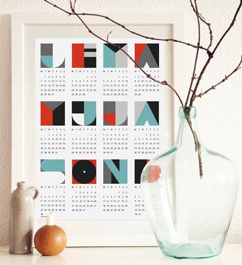 Calendarios originales