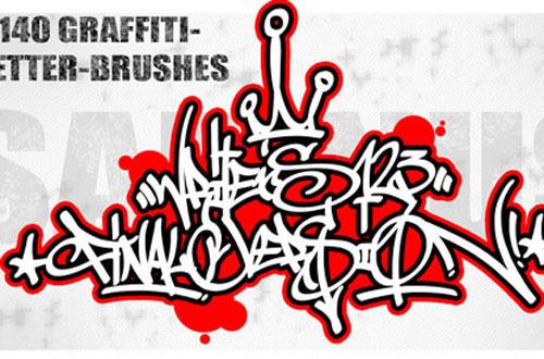 Pinceles Graffiti