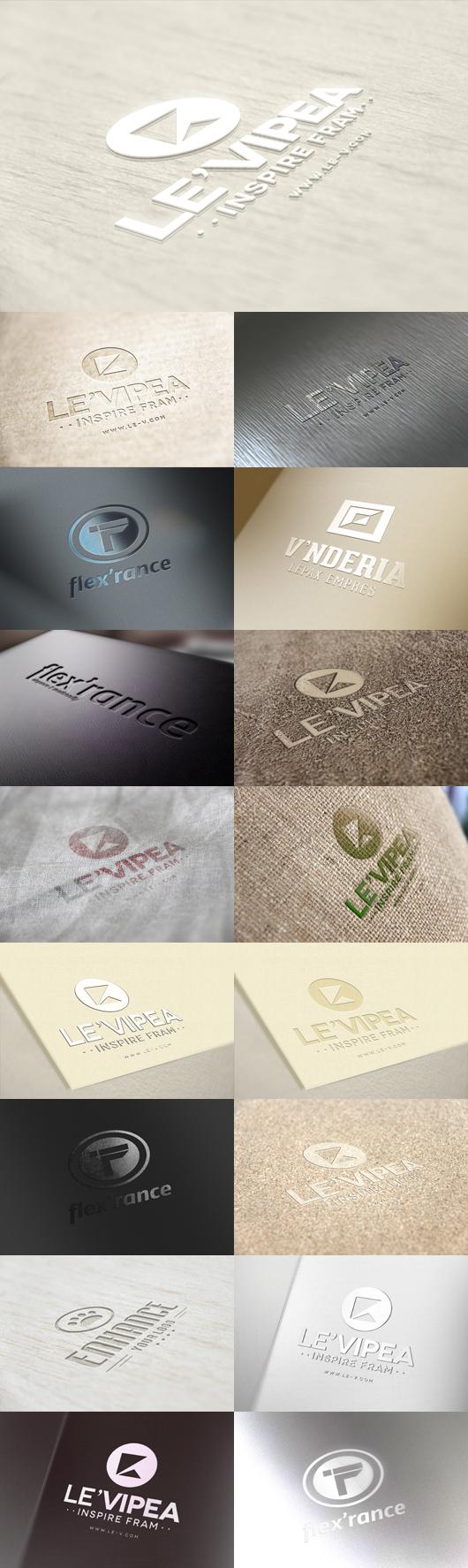 mockup para logos