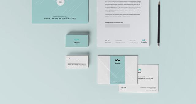 Mockup para Branding