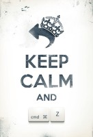 Keep Calm Póster
