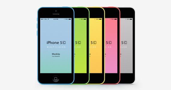 Mockup iphone 5c