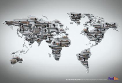 Mapas del mundo originales