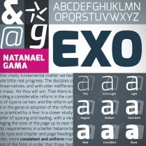 Tipografías Flat