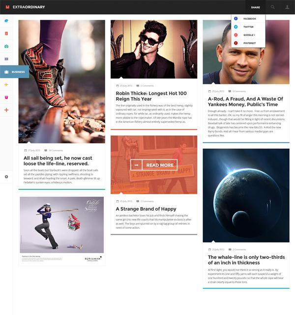 pagina web psd gratis