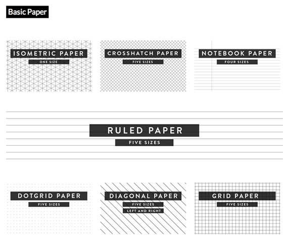 papel cuadrículado para imprimir
