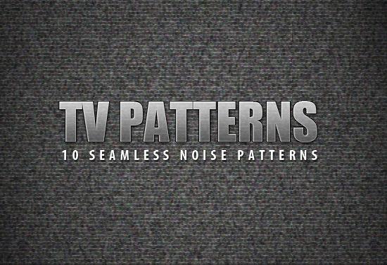 Textura de interferencias de televisión