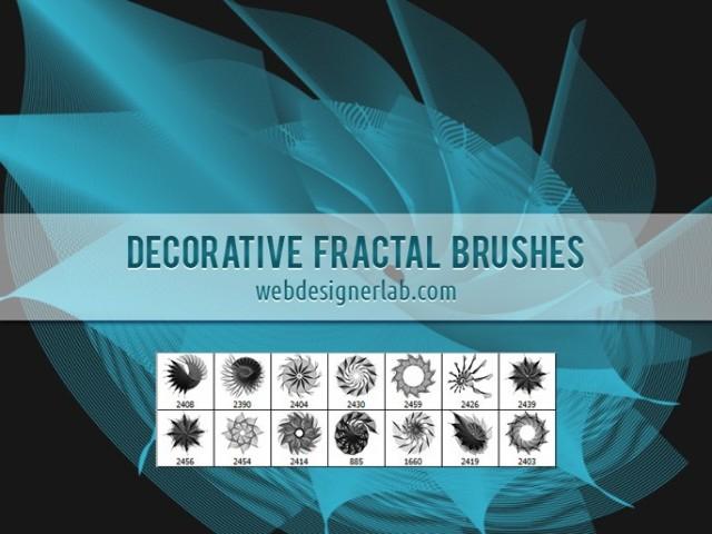 pinceles fractales para photoshop
