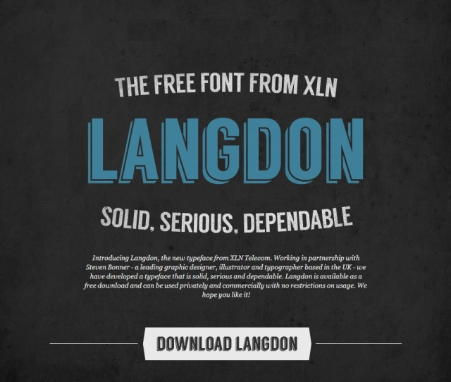 Free Font Friday #1