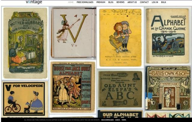 Banco de imagenes vintage