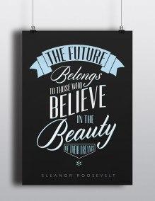 poster tipográficos para diseñadores