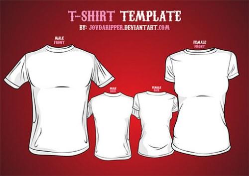 Mockups de camisetas