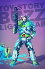 de héroes a villanos ilustracion