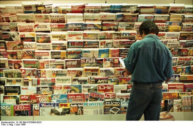 revistas y quioscos