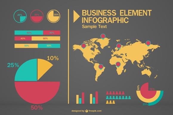 freebies para infografías
