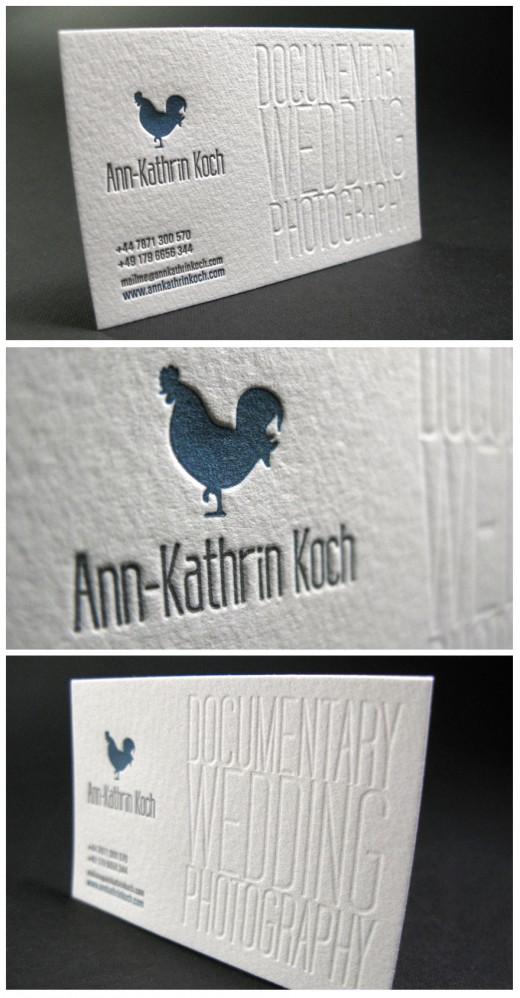 tarjetas de visita modernas y originales