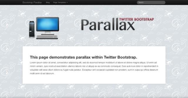 plantilla wordpress parallax free