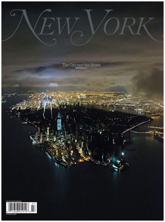Portada del apagón de nueva york