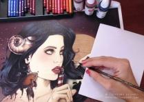 ilustraciones femeninas