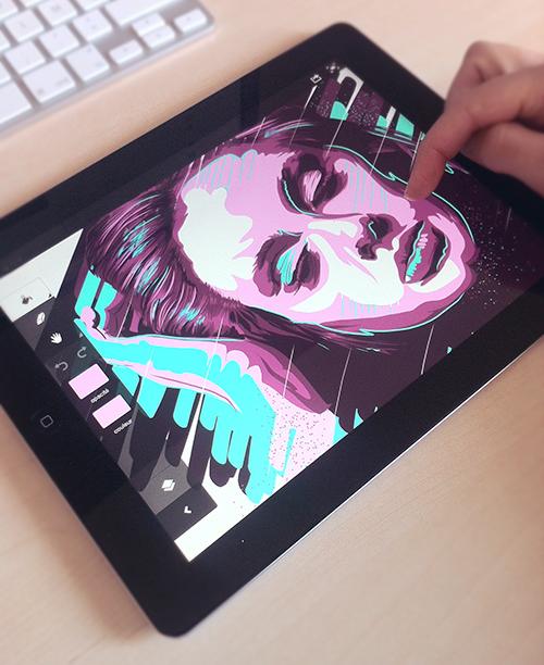 ilustración con adobe ideas
