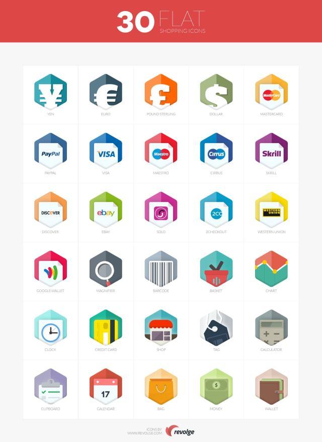 iconos para eCommerce