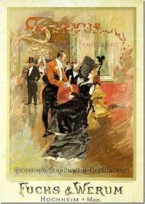 carteles de la belle epoque fuera de francia