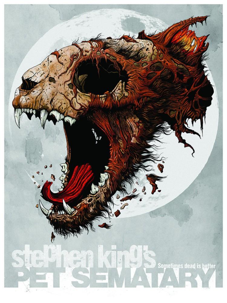 Pósters de las películas y libros de Stephen King (5/6)