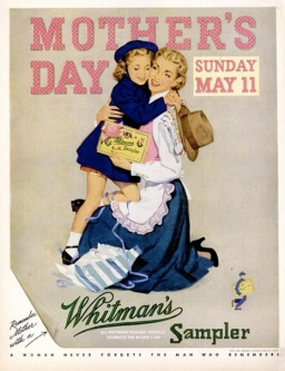 1952. whitmans Mother's Day