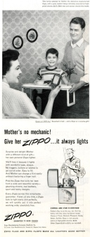 1954. zippo. Mother's Day