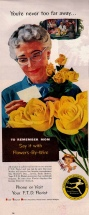 1956. FTD Florist Mother's Day