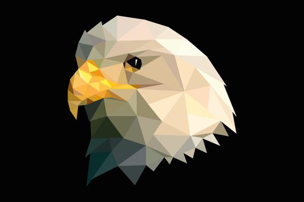 águila vectorial