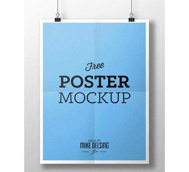 mockup de posters