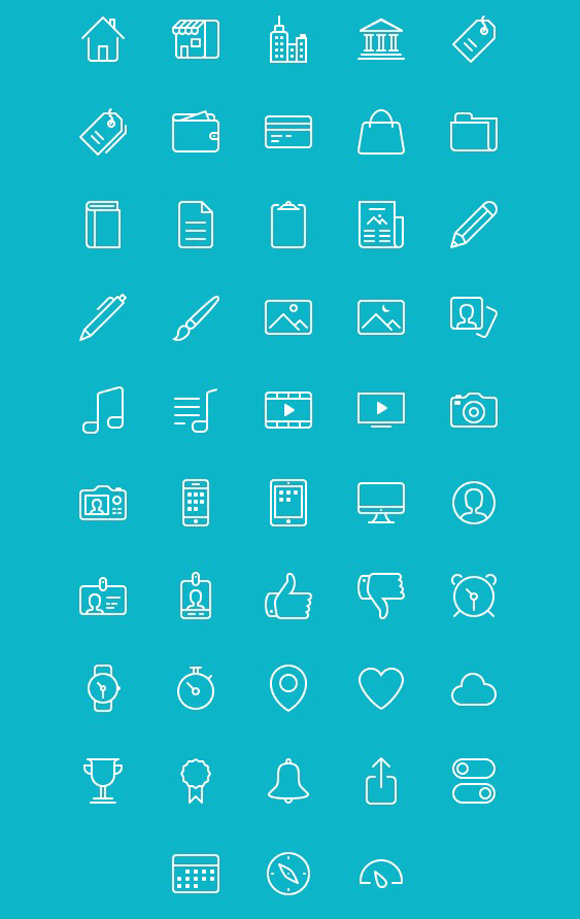 Iconos outline gratis