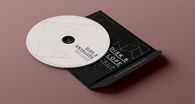 Mockup de cd