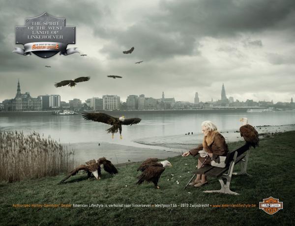 La publicidad gráfica de Harley Davidson (6/6)
