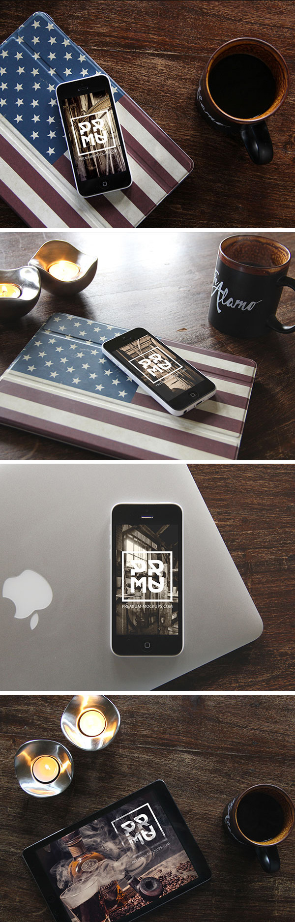 Mockup ipad y iphone