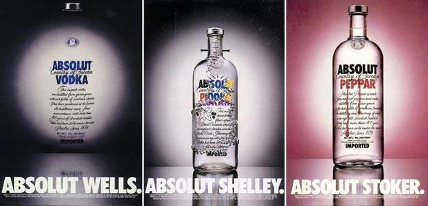 publicidad gráfica Absolut