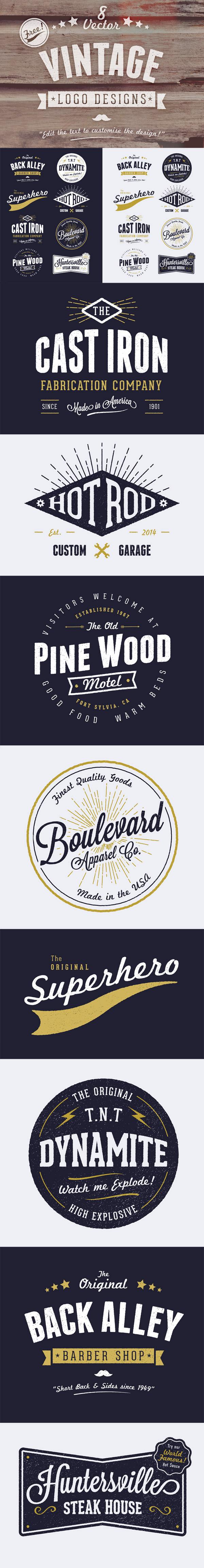 logotipos vintage