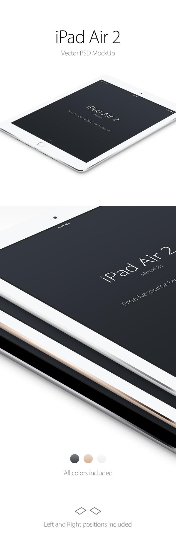 Mockup iPad Air 2