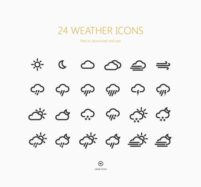Iconos weather