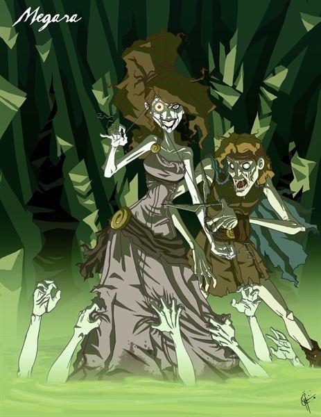 Princesas Disney Macabras