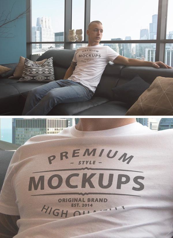 Mockup camiseta