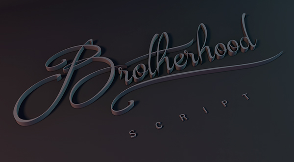 1.Free-Font-Of-The-Day-Brotherhood