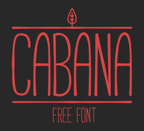 1.Free-Font-Of-The-Day-CABANA