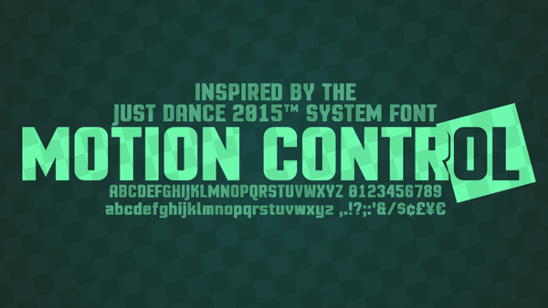1.Free-Font-Of-The-Day-Motion-Control