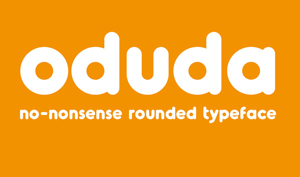 1.Free-Font-Of-The-Day-Oduda