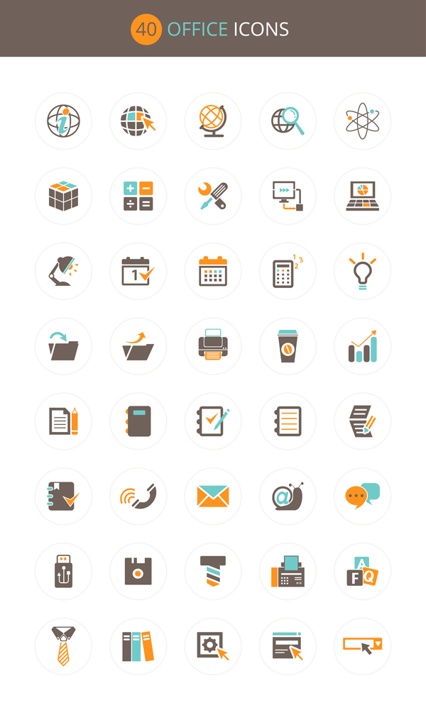 office-icon-set